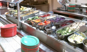 Healthy Options at the University of California, Irvine Dining Hall